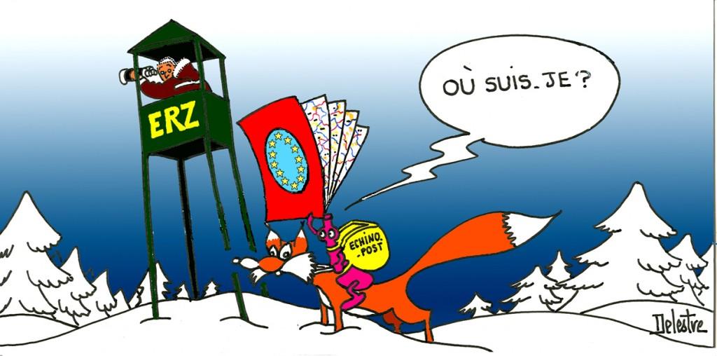 dessin de Philippe Delestre